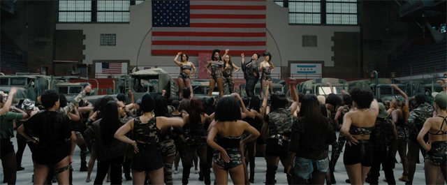 The women of Chi-Raq, leading the charge.
