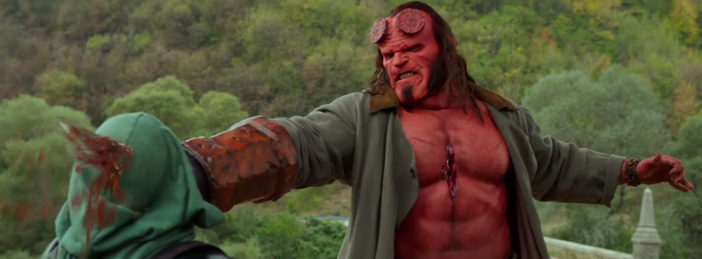 (this is what  Hellboy  also did to me)