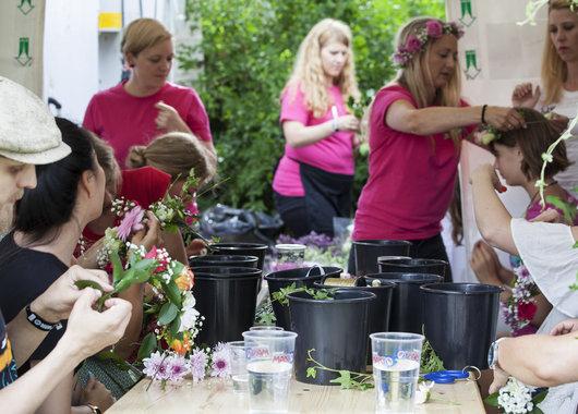 Standen ble lagt godt merke til og økte merkevarekjennskapen til Mester Grønn blant festivaldeltakerne