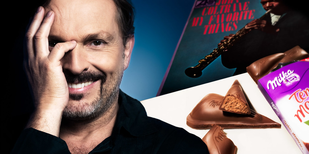 Miguel Bosé for Milka