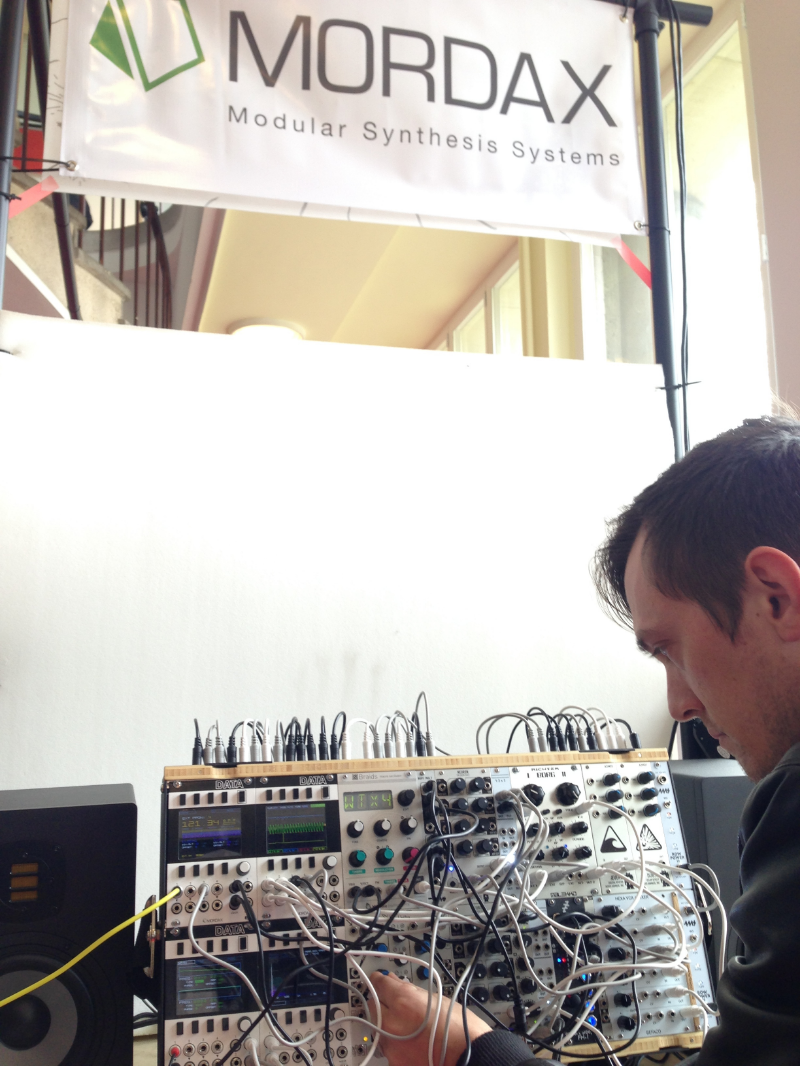 Mordax Systems Digital Home Wiring Superbooth16