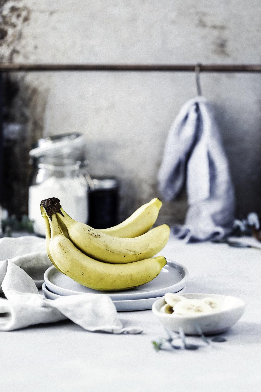 ELLE gourmet - Reportaje para la revista ELLE GOURMET.Plátano, éste ha sido el ingrediente del reportaje para el nuevo número de primavera. Recetas con nombre propio, donde el plátano es el absoluto protagonista.
