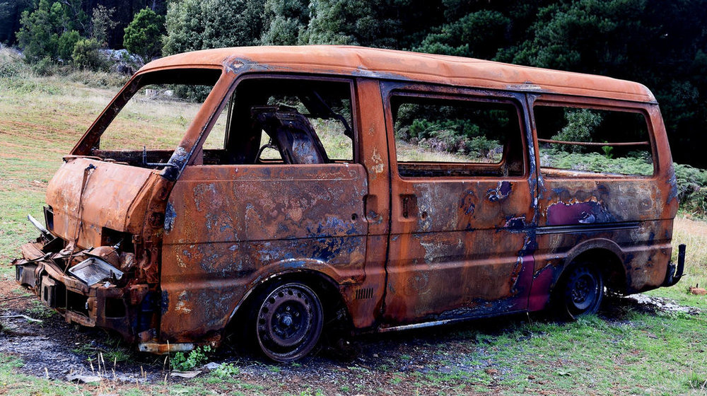 I firmly suspect it may be the dirt and rust that is holding my van together.