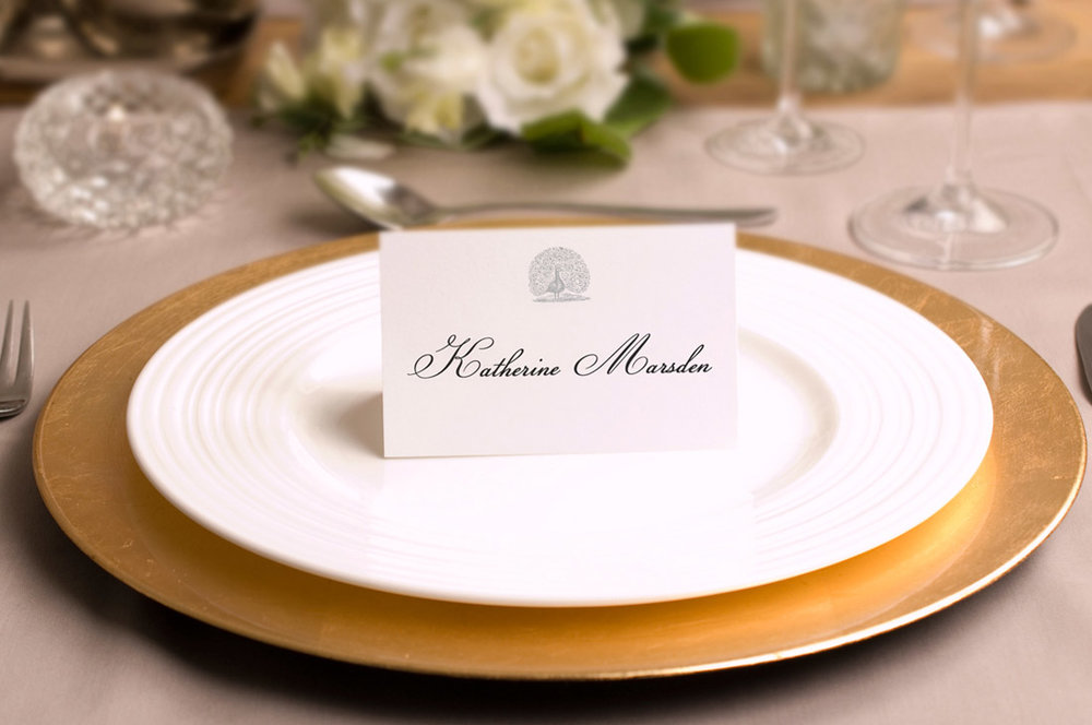 PLACE CARDS >>