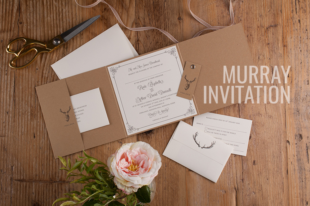 MURRAY INVITATION - FROM £179     VIEW MORE >>>