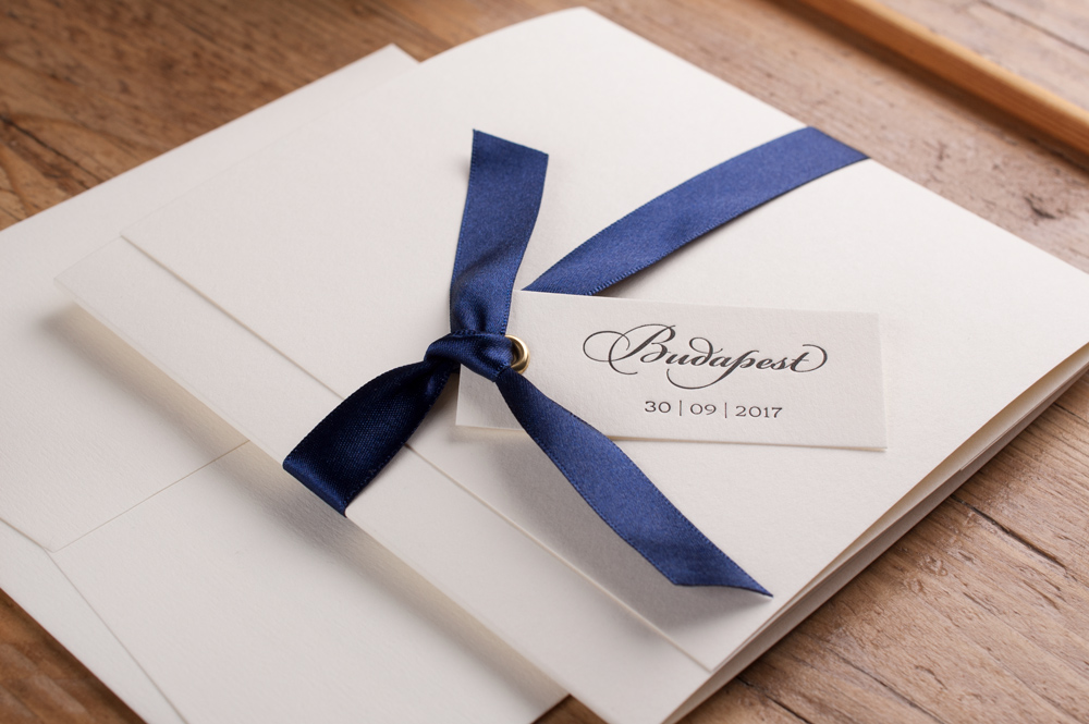All The Details…. - Click to view the Ellery Invitation Brochure, view the personalisation options, co-ordinating accessories and full specification.
