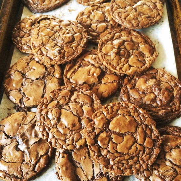 Brownie Cookies (for sandwiches)