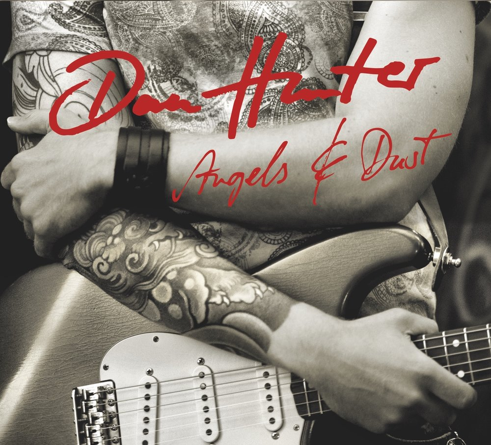 "Album Cover of Dan Hunter ""Angels And Dust"""
