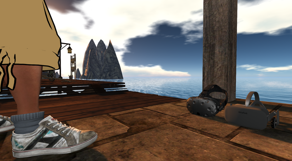 hmds in second life: nothing but smoke and mirrors?