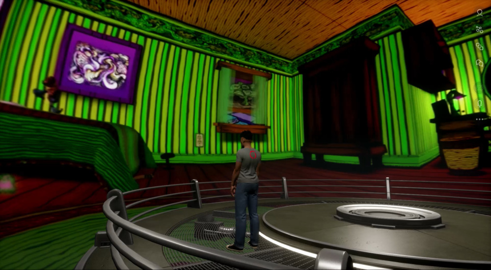 second life 360 video displayed in sansar
