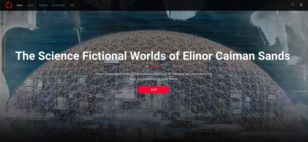 a user made tribute to second life scifi author elinor caiman sands
