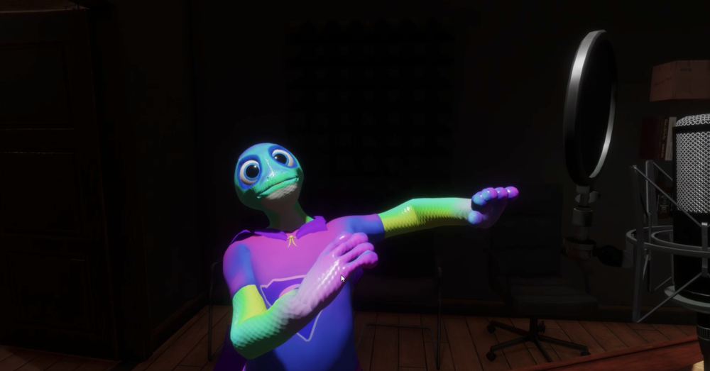 shyla the super gecko [her sansar version]
