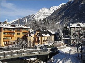 A week's stay for up to 4 people in Chamonix, Mount Blanc, France   Seven nights in a beautiful self-catering apartment overlooking the river Arve, available Winter or Summer. Value: £2000