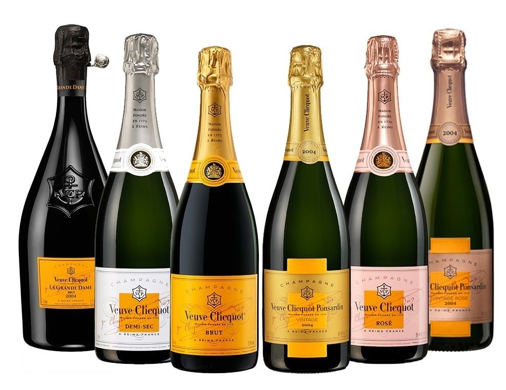 1 case of six bottles of Veuve Clicquot Champagne   Why not treat yourself? This case of luxury champagne could be yours. Six bottles of Veuve Clicquot champagnes, the taste of excellence since 1772. Value: £250