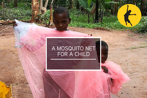 *A mosquito net for a child*   Malaria is one of the biggest killers of children in Uganda-  simply purchasing this gift can literally help to save a life.