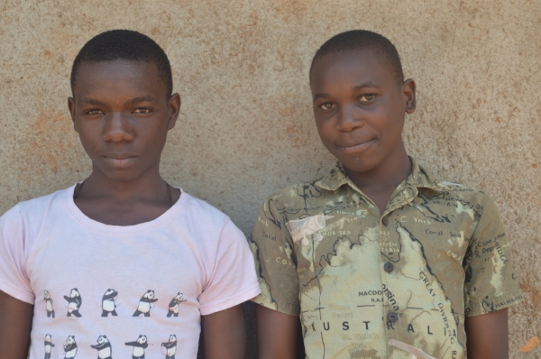 Caleb* and Jacob*, both graduates of the Carpentry Skills Programme now work together at the same workshop.