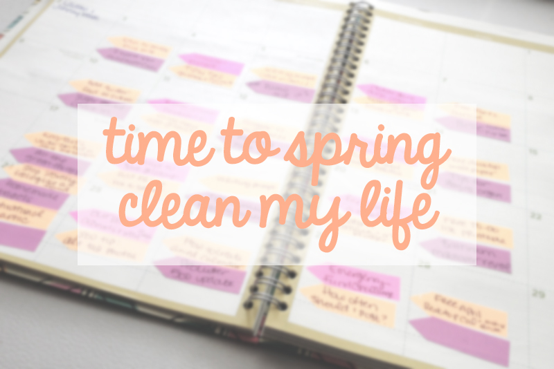 spring-cleaning-my-life