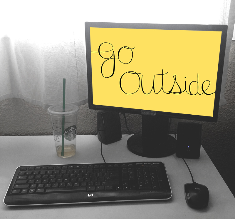 go-outside-wallpaper-free