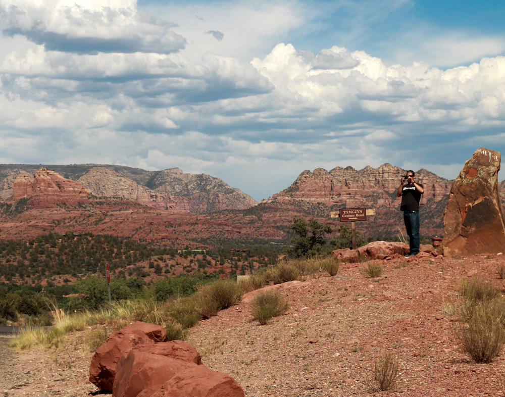 from our trip to sedona in july. i'm itching for an adventure with blaine.