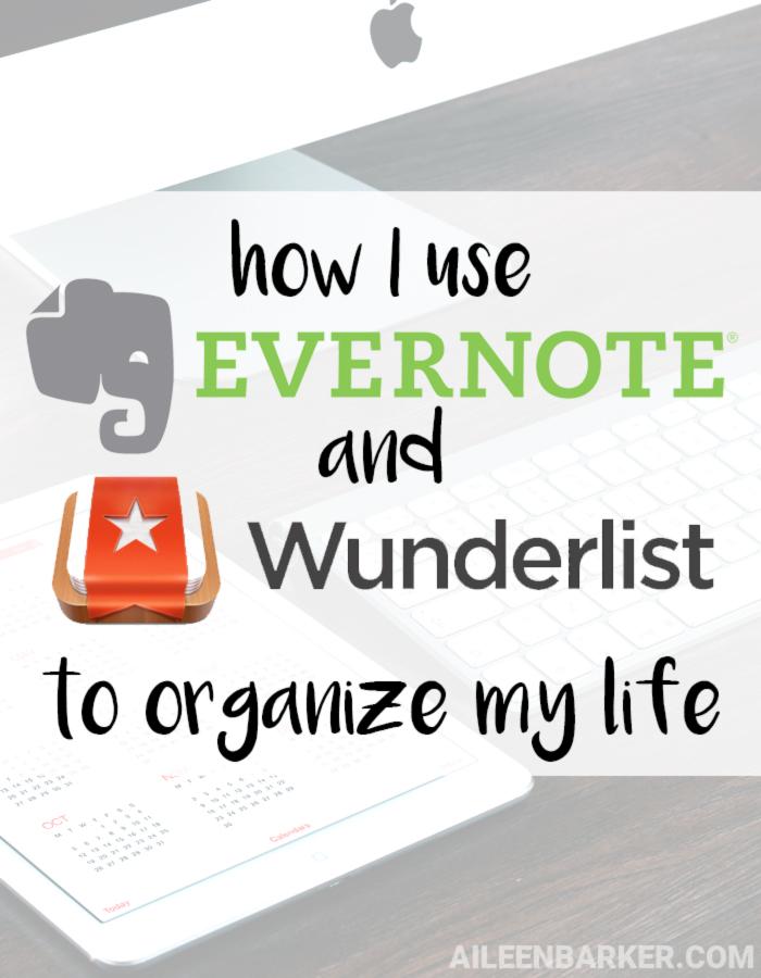 evernotewunderlistdigitalorganization