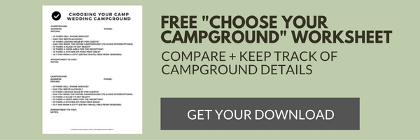 free -choose your campground- worksheet