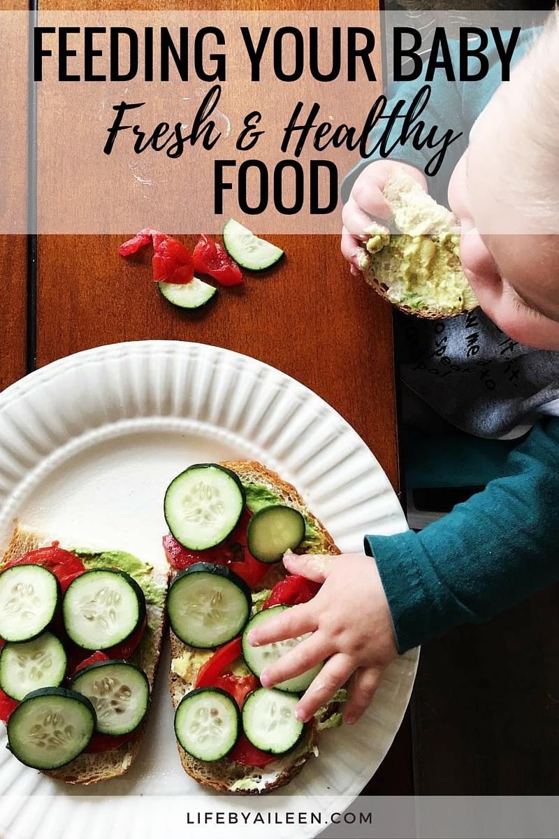 Feeding Your Baby Fresh Healthy Food