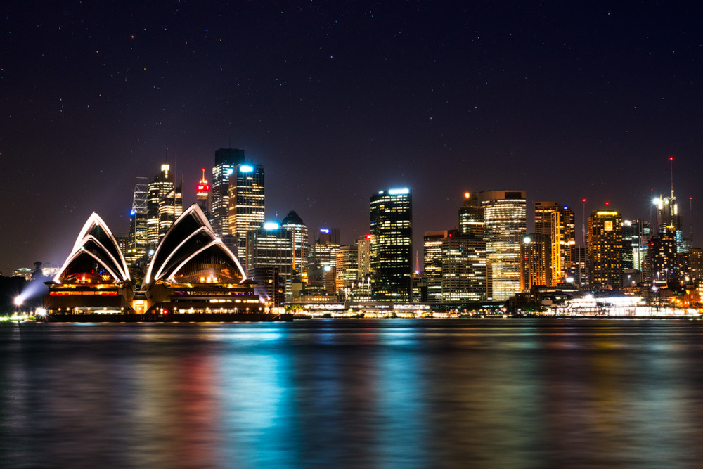 This long exposure of the iconic Sydney skyline was taken from the north side of the harbour, from Kirribilli. While Jeffry St Wharf on the bank of Milson's Point offers the busload's of tourists postcard-perfect views of the city, try venturing east along Kirribilli Avenue, before turning down Beulah St to each Beulah St Wharf which offers (in my opinion) a better view of the city that's far less crowded.