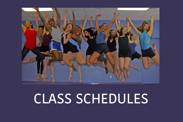 Learn more about our FALL 2015 Class Schedules