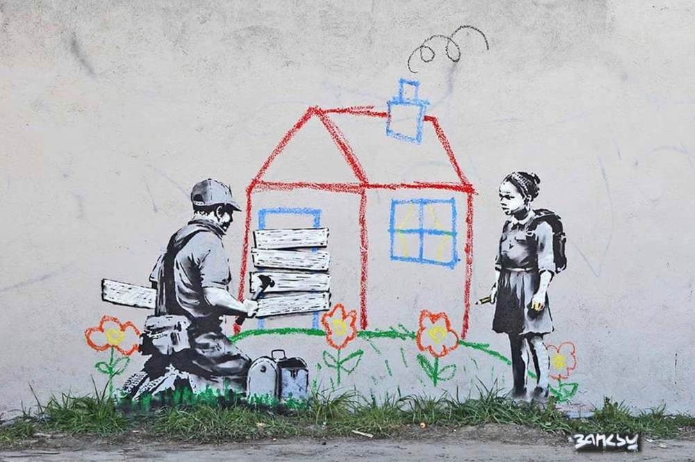 BanksyMuralviaUnurthStreetArt