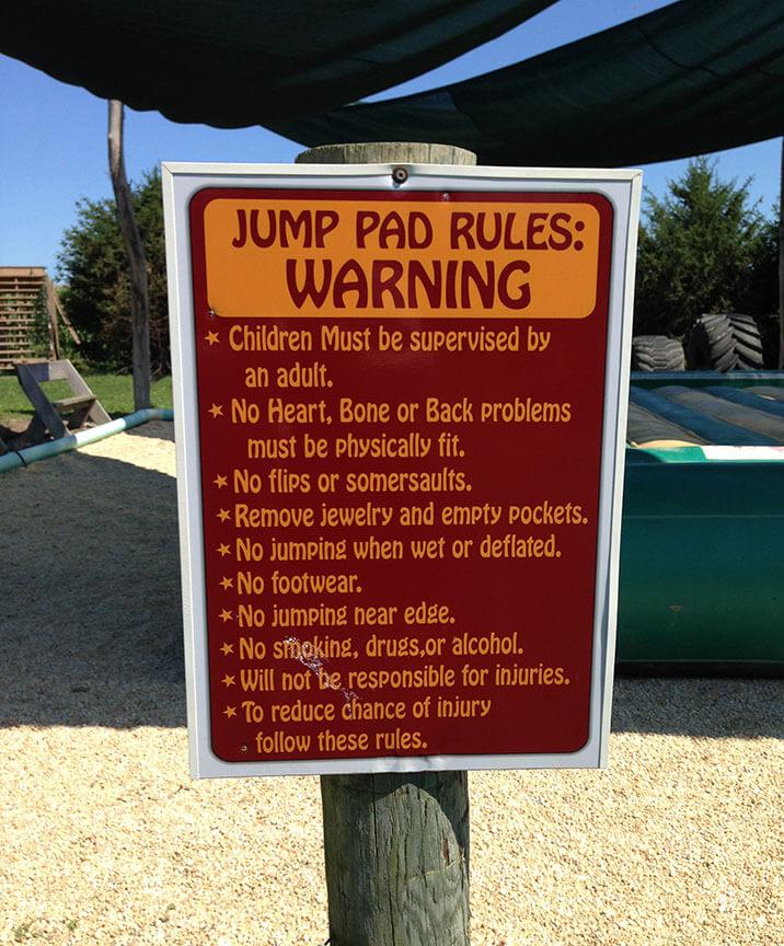 JumpPadRules