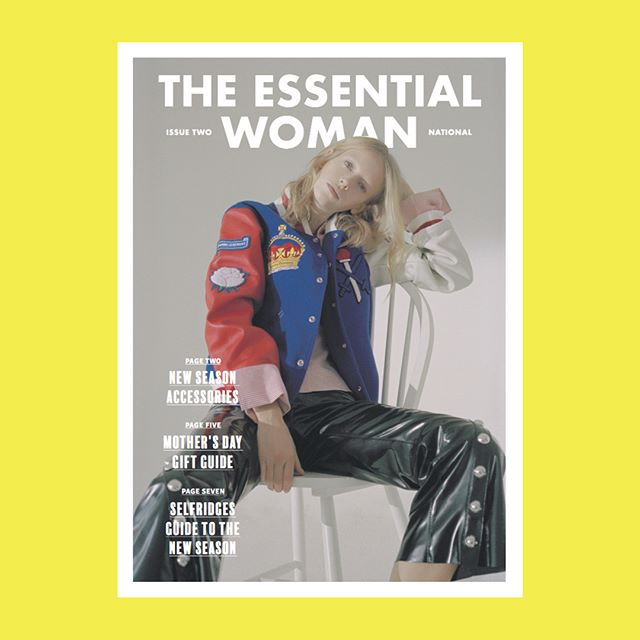 The Essential Woman in collaboration with @theofficialselfridges  #selfridges #womensfashion #creativedesign #design