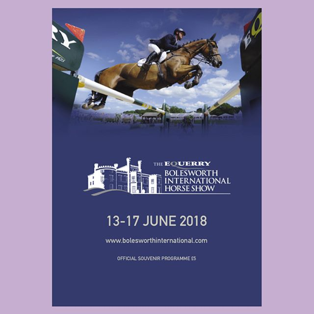 Bolesworth International Horse Show; Official Programme.  #print #design #graphicdesign #media #gloss #horse #equestrian #show #editorialdesign #magazine