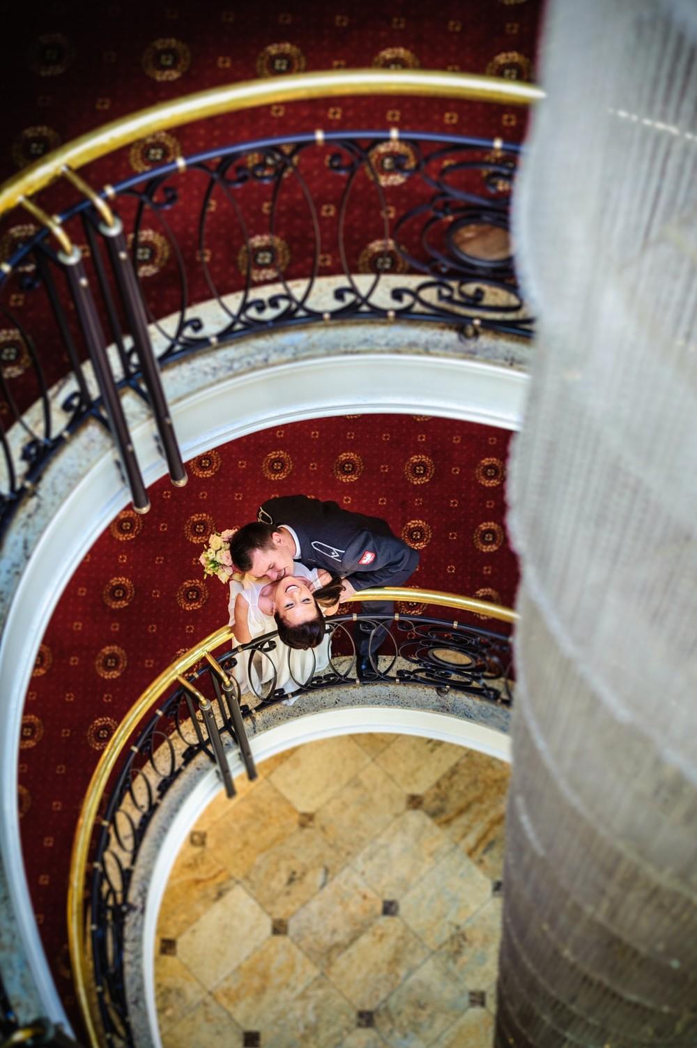 Sesja ślubna w hotelu Słoneczny Młyn Bydgoszcz