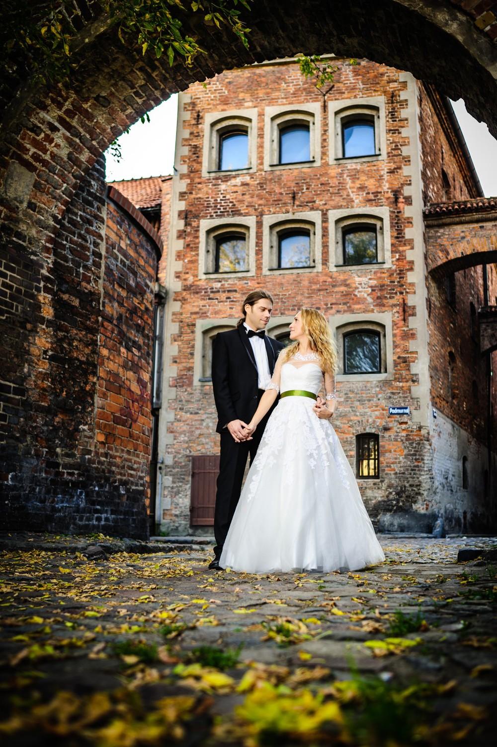 Plener ślubny starówka Toruń