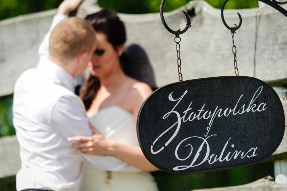 Sesja ślubna Pałac Złotopolska Dolina koło Warszawy