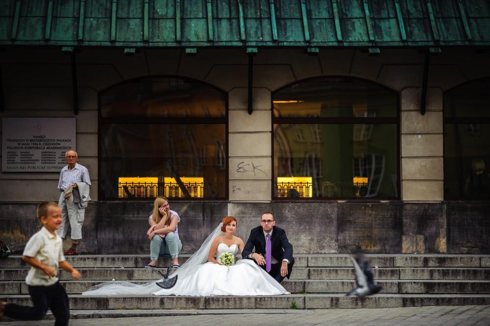 Sesja ślubna starówka Warszawska