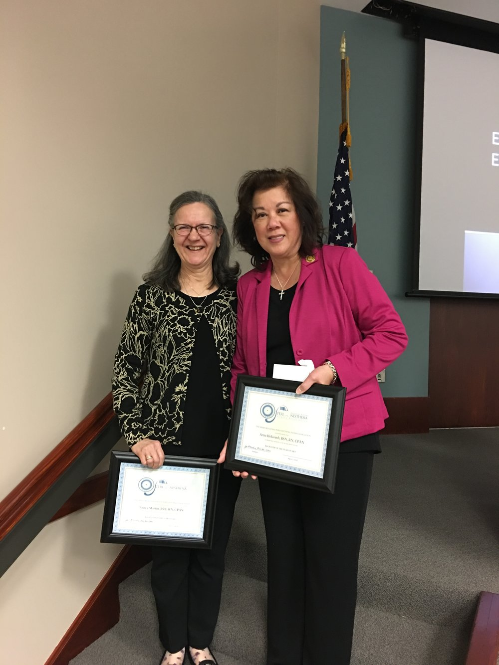 Recruiters of the Year 2018-Nancy Martin and Armi Holcomb