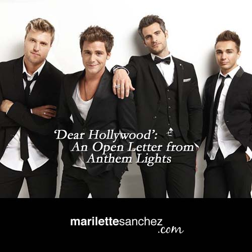 Dear Hollywood': An Open Letter from Anthem Lights