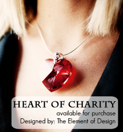 "keepitrealgame :      theroverlife :     Hey everyone, as you may know, Red Rover Style has partnered with  The Element of Design  jewelry line to share our Heart of Charity pendant with all of you. We wanted to share what the founder, Leslie Robinson, of  The Keep It Real Game  had to say about her  Heart of Charity Pendant.      ""I was extraordinarily fortunate to win the heart of charity pendant in a raffle at a Red Rover Style [Give-A-Gift] event. This pendant is one of the most beautiful things I have ever owned. It feels exquisite to wear it, and the pendant has a magic about it which affects people. I receive so many heartfelt compliments every time I wear it, and people seem drawn to it. I wear it to many meaningful occasions, and aside from being beautiful, it is also powerful. I can honestly say that having this pendant has enriched my life."" -Leslie.      Check it out on Red Rover Style"
