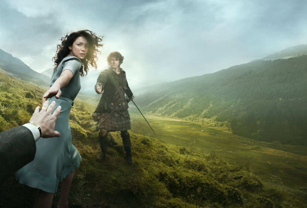Outlander photo from  this webpage .