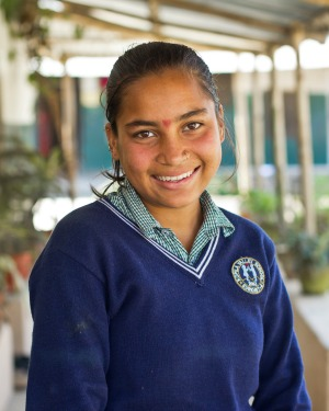 STF Scholar Hima - one of the original girls Lindsay sponsored with cupcakes.