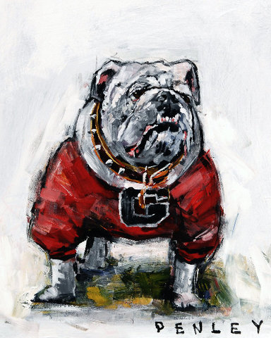 Steve Penley Uga V giclee print & acrylic on paper    16 x 20 inches unframed  |  edition of 125
