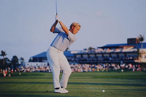 Jack Ncklaus #3 PGA National GC, Palm Beach Gardens, FL 1971 PGA Championship