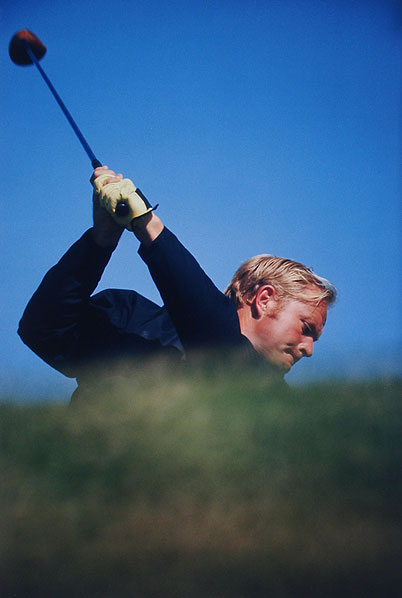 Jack Nicklaus #1 Hazeltine National GC, Chaska, MN Preparing For The 1970 U.S. Open