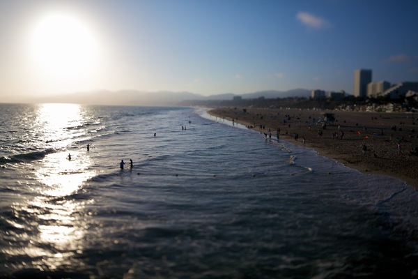 Vincent Laforet Sunset Santa Monica, 2009