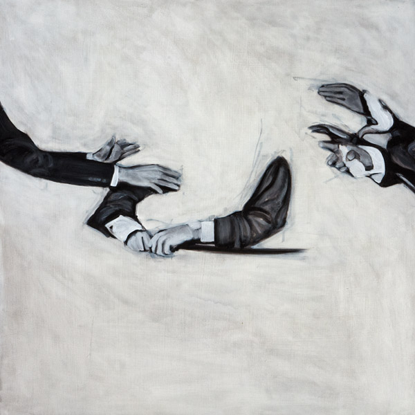 Untitled<br>oil on canvas<br>24 x 24 inches