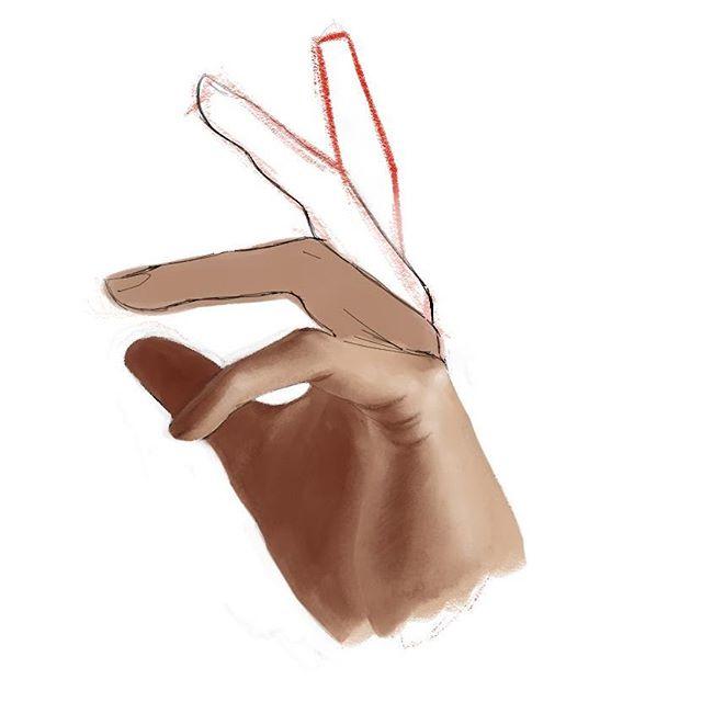 Hand #sketch