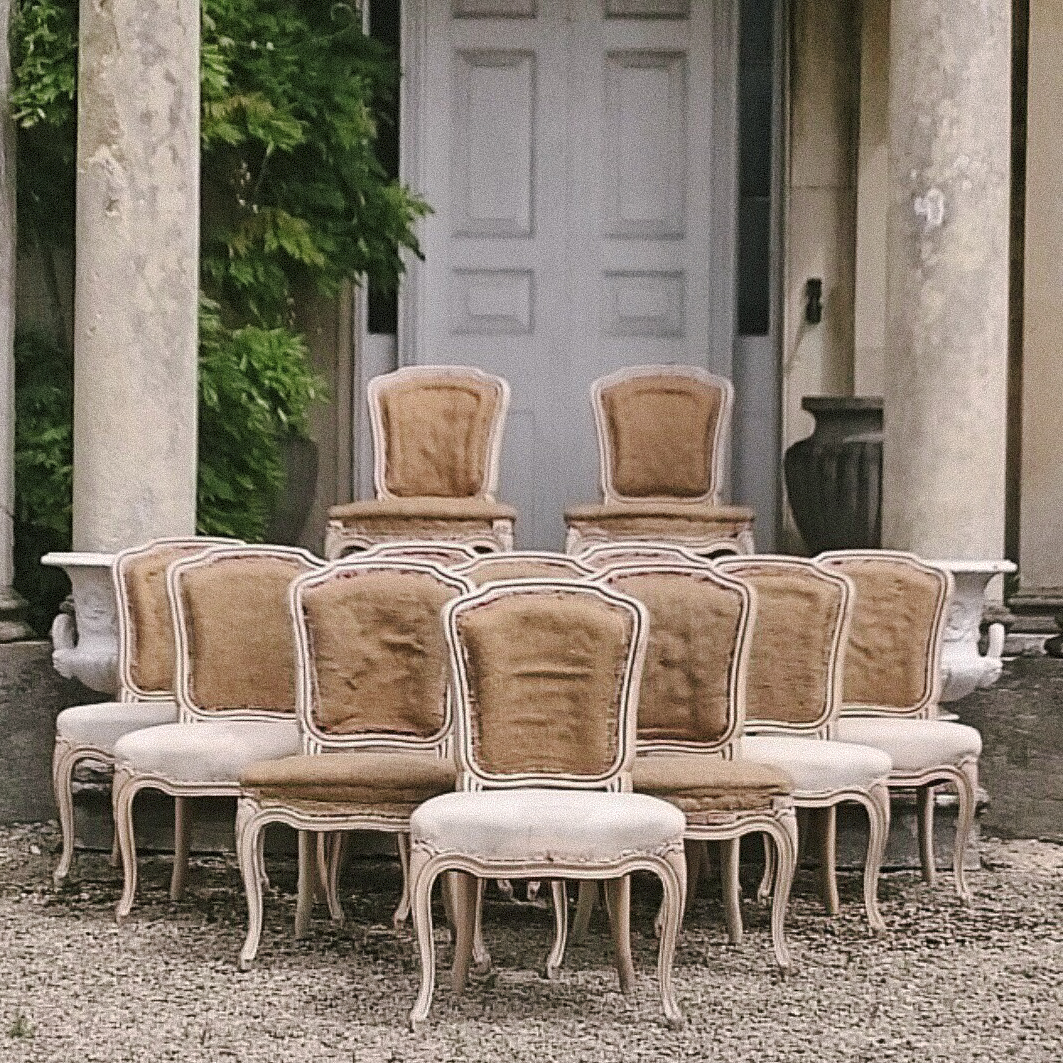 19th Century Louis Xvi Dining Chairs