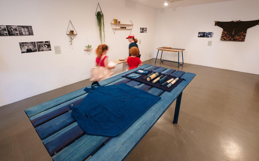 sarah johnson cabbage blue indigo clothing cast cornwall folklore newlyn craft school 4
