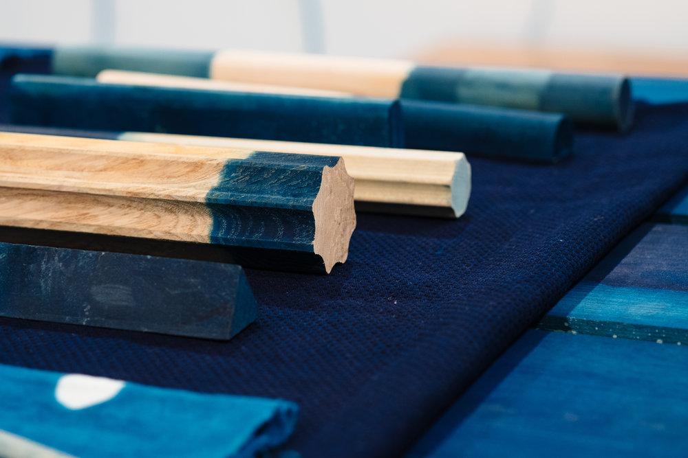 sarah johnson cabbage blue indigo clothing cast cornwall folklore newlyn craft school 5
